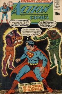 Cover Thumbnail for Action Comics (DC, 1938 series) #383