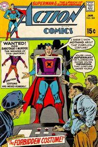 Cover Thumbnail for Action Comics (DC, 1938 series) #384