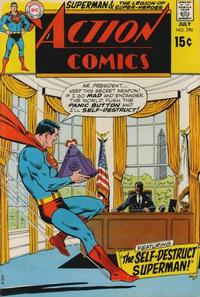 Cover Thumbnail for Action Comics (DC, 1938 series) #390