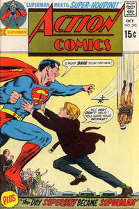 Cover Thumbnail for Action Comics (DC, 1938 series) #393