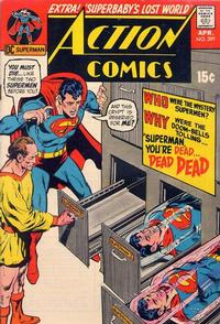 Cover for Action Comics (DC, 1938 series) #399