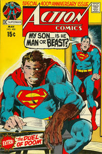 Cover Thumbnail for Action Comics (DC, 1938 series) #400