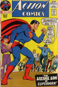 Cover Thumbnail for Action Comics (DC, 1938 series) #410