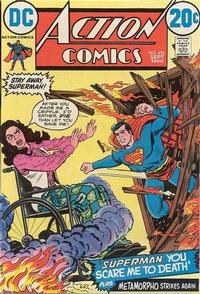 Cover for Action Comics (DC, 1938 series) #416