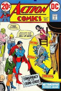 Cover for Action Comics (DC, 1938 series) #417