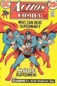 Cover for Action Comics (DC, 1938 series) #418