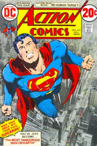 Cover Thumbnail for Action Comics (DC, 1938 series) #419