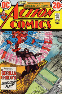Cover Thumbnail for Action Comics (DC, 1938 series) #424