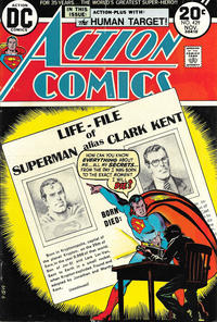 Cover Thumbnail for Action Comics (DC, 1938 series) #429