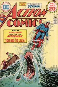 Cover Thumbnail for Action Comics (DC, 1938 series) #439