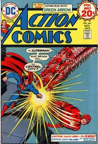 Cover Thumbnail for Action Comics (DC, 1938 series) #441