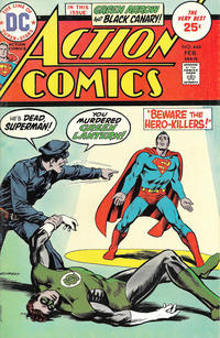 Cover Thumbnail for Action Comics (DC, 1938 series) #444