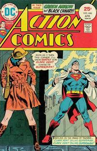 Cover Thumbnail for Action Comics (DC, 1938 series) #446