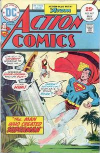 Cover for Action Comics (DC, 1938 series) #447