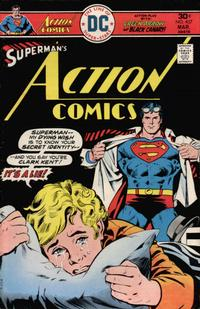Cover for Action Comics (DC, 1938 series) #457