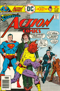 Cover for Action Comics (DC, 1938 series) #460