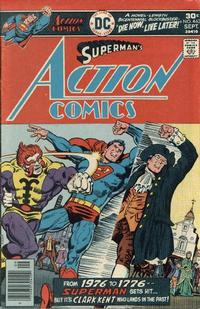 Cover Thumbnail for Action Comics (DC, 1938 series) #463