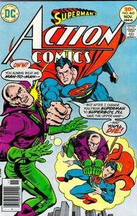 Cover Thumbnail for Action Comics (DC, 1938 series) #465