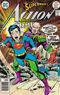 Cover Thumbnail for Action Comics (DC, 1938 series) #466