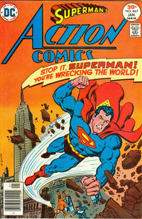 Cover Thumbnail for Action Comics (DC, 1938 series) #467