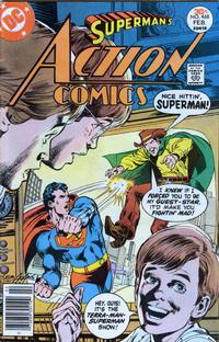Cover Thumbnail for Action Comics (DC, 1938 series) #468