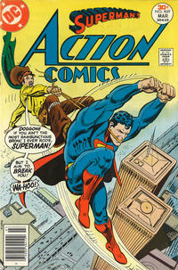 Cover Thumbnail for Action Comics (DC, 1938 series) #469