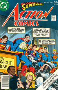Cover Thumbnail for Action Comics (DC, 1938 series) #474