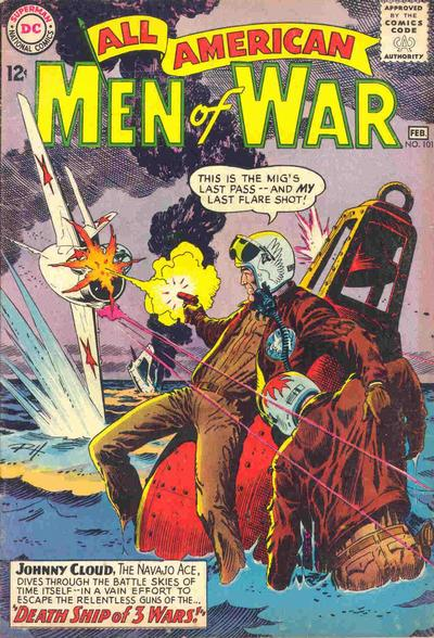 Cover for All-American Men of War (DC, 1953 series) #101