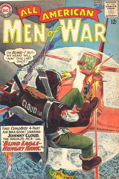 Cover for All-American Men of War (DC, 1953 series) #102