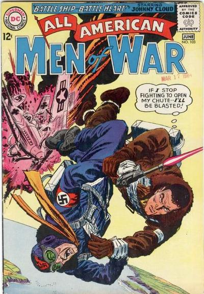 Cover for All-American Men of War (DC, 1953 series) #103