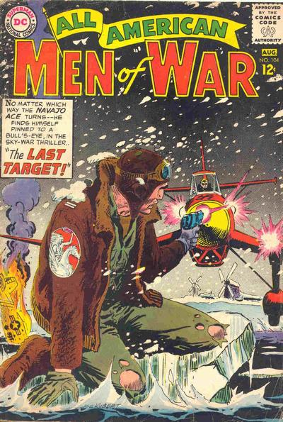 Cover for All-American Men of War (DC, 1952 series) #104