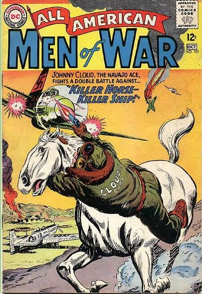 Cover for All-American Men of War (DC, 1953 series) #105