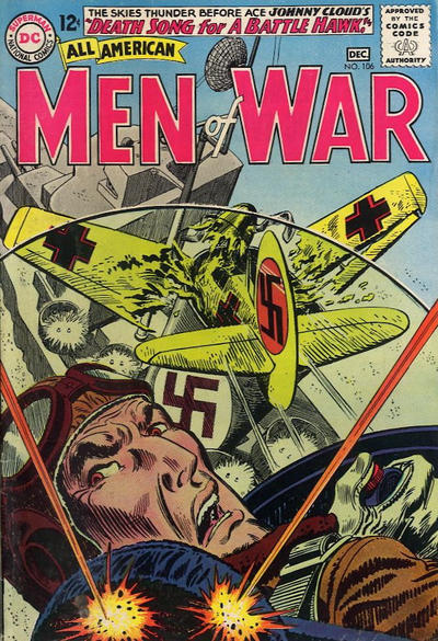 Cover for All-American Men of War (DC, 1953 series) #106