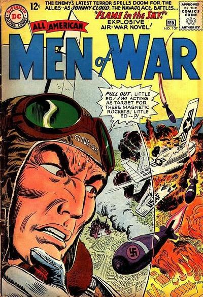 Cover for All-American Men of War (DC, 1952 series) #107