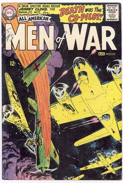 Cover for All-American Men of War (DC, 1953 series) #110
