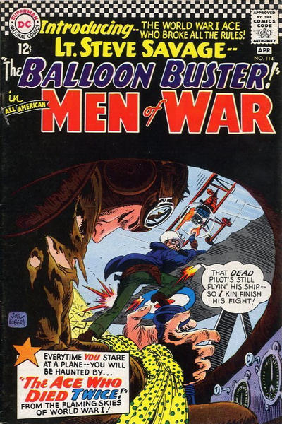 Cover for All-American Men of War (DC, 1953 series) #114