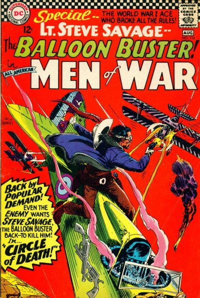Cover for All-American Men of War (DC, 1953 series) #116