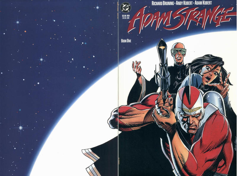 Cover for Adam Strange (DC, 1990 series) #1