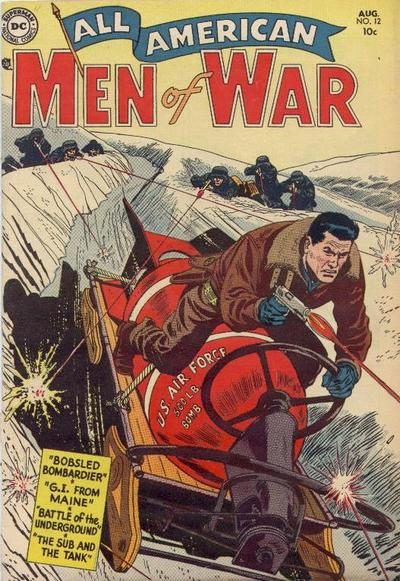 Cover for All-American Men of War (DC, 1952 series) #12