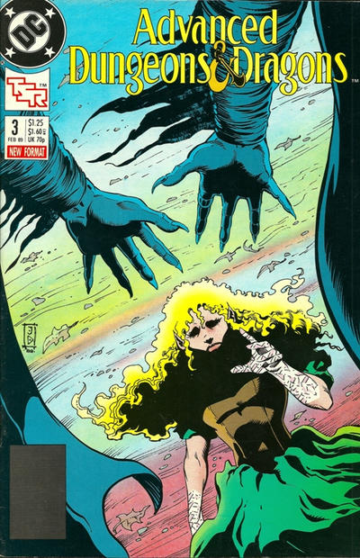 Cover for Advanced Dungeons & Dragons Comic Book (DC, 1988 series) #3