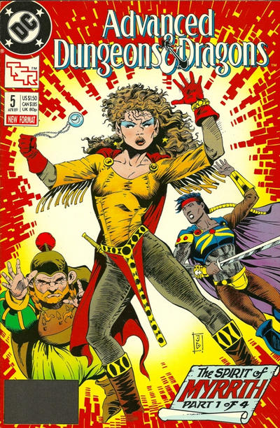Cover for Advanced Dungeons & Dragons Comic Book (DC, 1988 series) #5