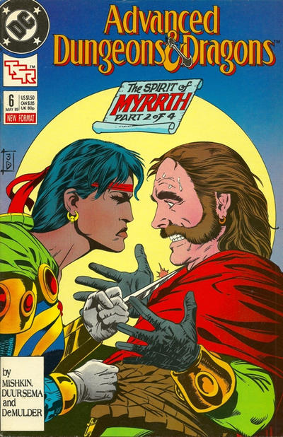 Cover for Advanced Dungeons & Dragons Comic Book (DC, 1988 series) #6