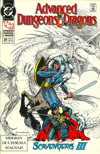 Cover for Advanced Dungeons & Dragons Comic Book (DC, 1988 series) #26