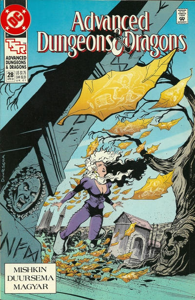 Cover for Advanced Dungeons & Dragons Comic Book (DC, 1988 series) #28