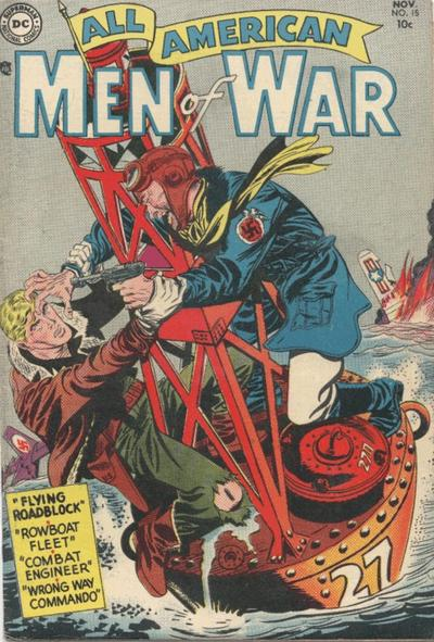 Cover for All-American Men of War (DC, 1953 series) #15