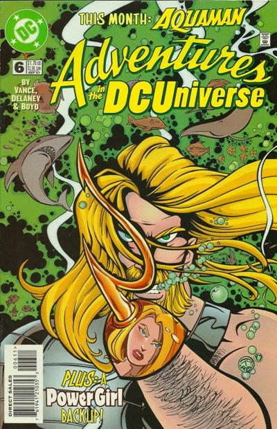 Cover for Adventures in the DC Universe (DC, 1997 series) #6