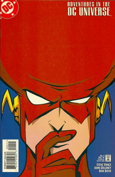 Cover for Adventures in the DC Universe (DC, 1997 series) #9