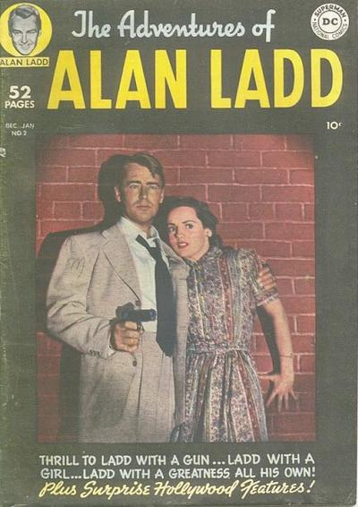 Cover for The Adventures of Alan Ladd (DC, 1949 series) #2