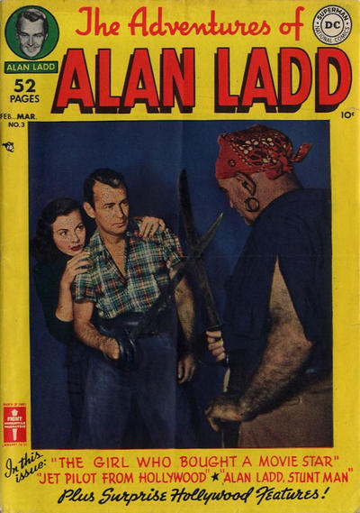 Cover for The Adventures of Alan Ladd (DC, 1949 series) #3