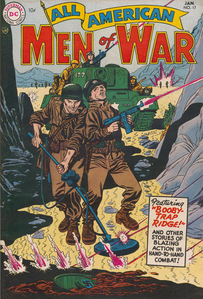 Cover for All-American Men of War (DC, 1953 series) #17